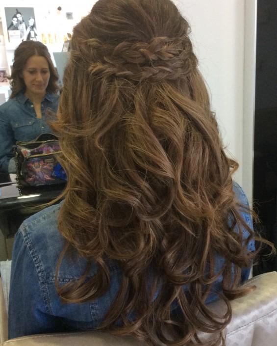 peinado de novia en collado villalba