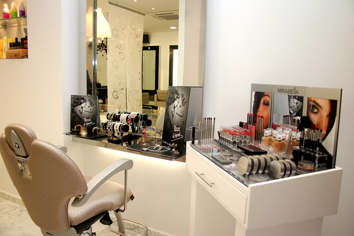 mobiliario para maquillaje profesional
