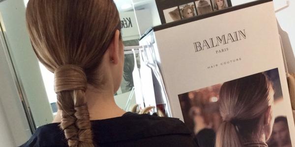 Extensiones de cabello natural Balmain en Antonella Loppi